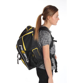 Dare2Tri Transition Mochila 33L, black/yellow